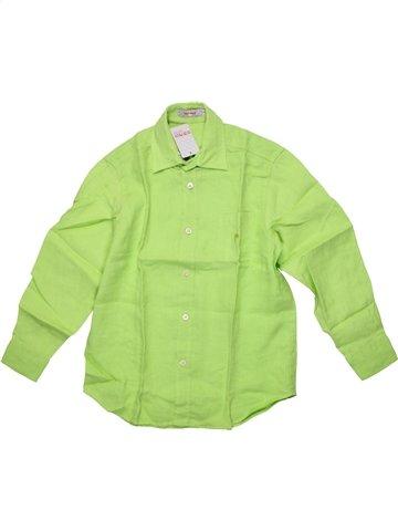 Camisa de manga larga niño CLAYEUX verde 6 años verano #1199531_1