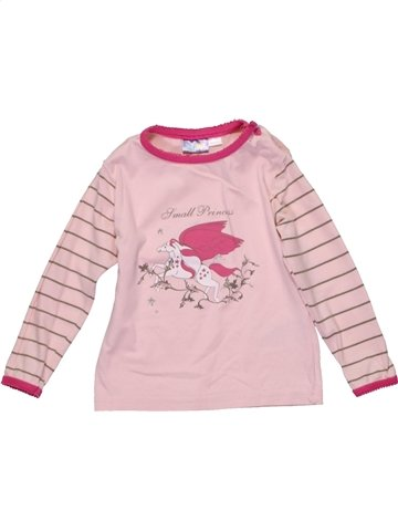T-shirt manches longues fille LUPILU violet 3 ans hiver #1201965_1