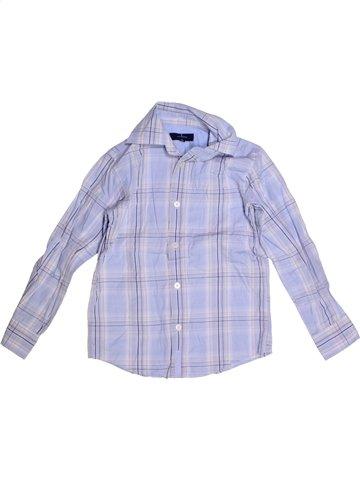 Chemise manches longues garçon JASPER CONRAN gris 8 ans hiver #1204403_1
