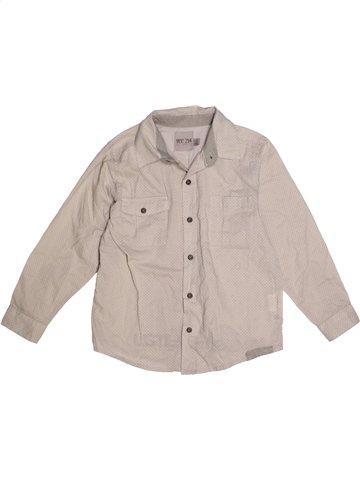 Chemise manches longues garçon YCC-214 gris 5 ans hiver #1205058_1