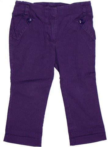 Pantalon fille LILI GAUFRETTE violet 2 ans hiver #1205891_1