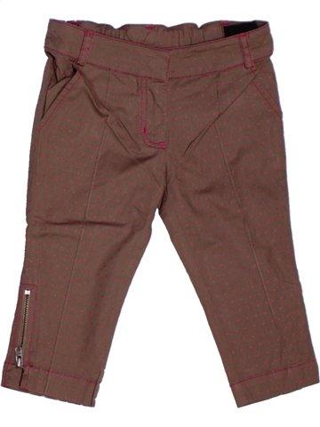 Pantalón corto niña LILI GAUFRETTE marrón 2 años verano #1205894_1