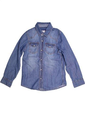 Chemise manches longues garçon ALIVE bleu 10 ans hiver #1207824_1