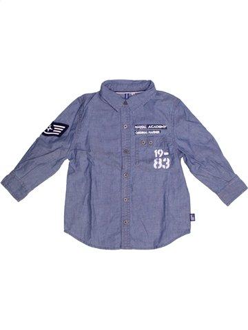 Camisa de manga larga niño ORIGINAL MARINES violeta 2 años invierno #1213179_1