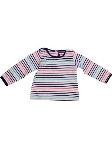 T-shirt manches longues fille SERGENT MAJOR blanc 2 ans hiver #1213903_1