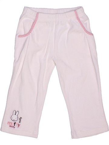 Pantalon fille HELLO KITTY blanc 2 ans hiver #1215295_1