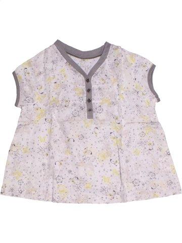 Blusa de manga corta niña CAPTAIN TORTUE blanco 6 años verano #1216968_1