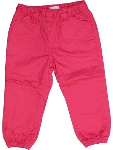 Pantalon fille KIMBALOO rose 2 ans hiver #1217194_1