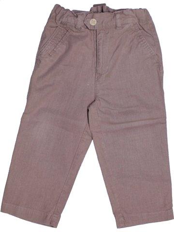 Pantalon garçon 3 SUISSES gris 2 ans hiver #1218651_1