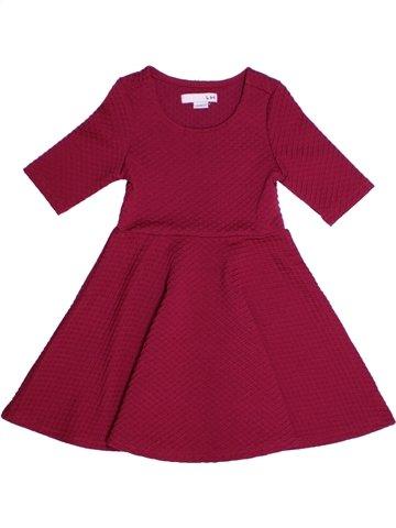 Robe fille LH BY LA HALLE violet 3 ans hiver #1219042_1