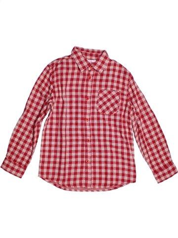 Camisa de manga larga niño MONOPRIX rosa 8 años invierno #1220475_1