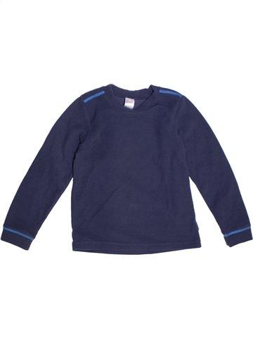 Pull garçon QUECHUA bleu 6 ans hiver #1222006_1