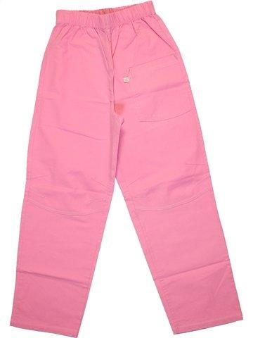 Pantalon fille COUDÉMAIL rose 8 ans été #1223400_1
