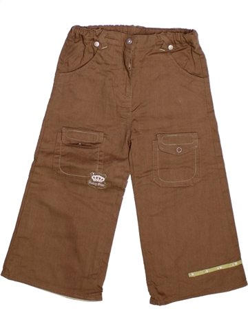 Pantalón niño TOUT COMPTE FAIT marrón 2 años invierno #1224137_1