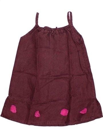 Robe fille JEAN BOURGET violet 4 ans été #1224263_1