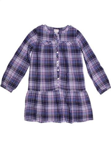 Robe fille CYRILLUS violet 6 ans hiver #1225649_1