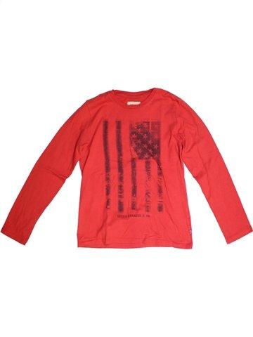 T-shirt manches longues garçon LEVI'S rouge 14 ans hiver #1226218_1