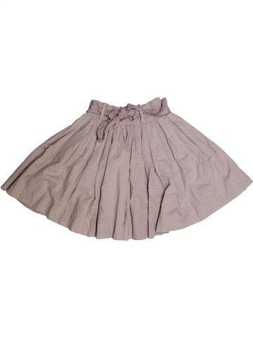 Falda niña CYRILLUS gris 10 años invierno #1228724_1