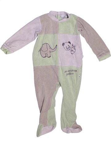Pyjama 1 pièce garçon LES KINOUSSES gris 2 ans hiver #1229611_1