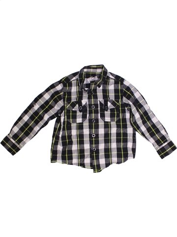Chemise manches longues garçon MATALAN noir 5 ans hiver #1230576_1