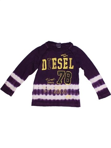 T-shirt manches longues garçon DIESEL marron 2 ans hiver #1230806_1