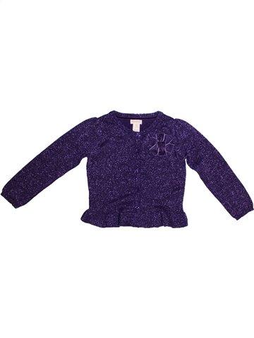Gilet fille MONSOON violet 4 ans hiver #1232455_1