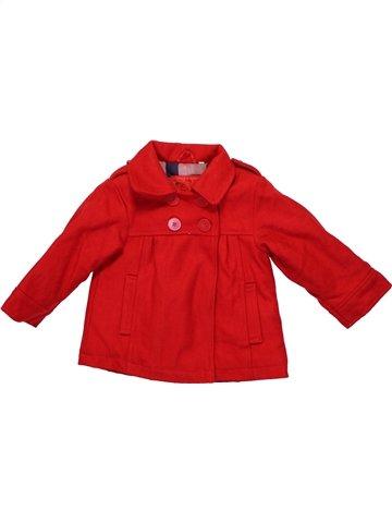 Manteau fille LOSAN rouge 18 mois hiver #1234629_1
