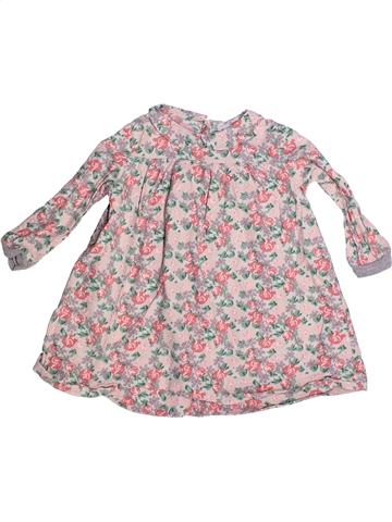 Robe fille PETIT BATEAU gris 2 ans hiver #1235826_1