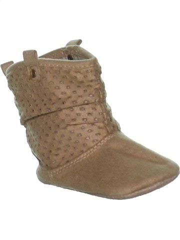 Chaussures bébé fille F&F marron 12 mois hiver #1236994_1