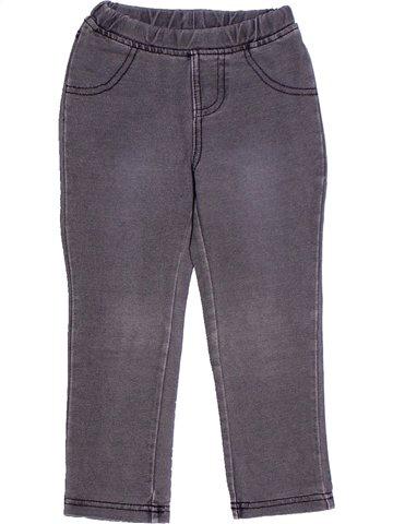 Pantalon fille LISA ROSE bleu 2 ans hiver #1238108_1