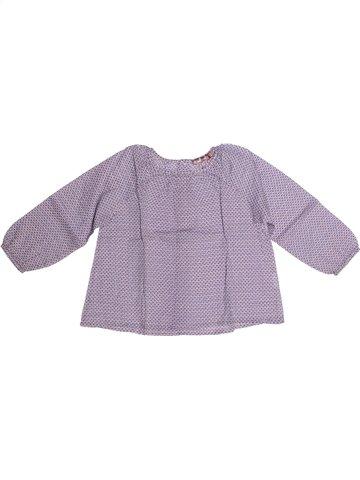 Blusa de manga larga niña BOUT'CHOU violeta 3 años invierno #1238485_1