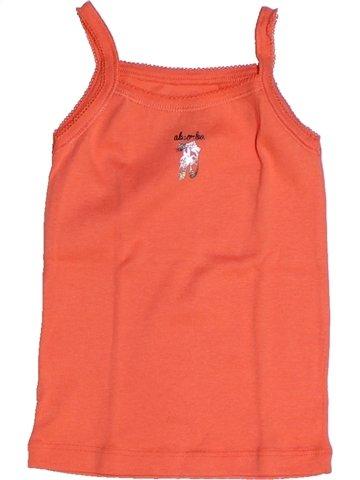 Camiseta sin mangas niña ABSORBA naranja 3 años verano #1239245_1