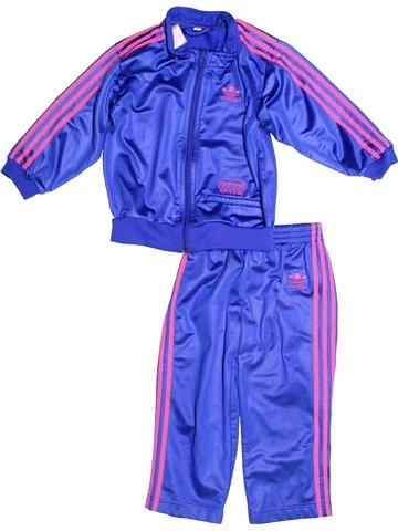 Jogging fille ADIDAS bleu 4 ans hiver #1239516_1