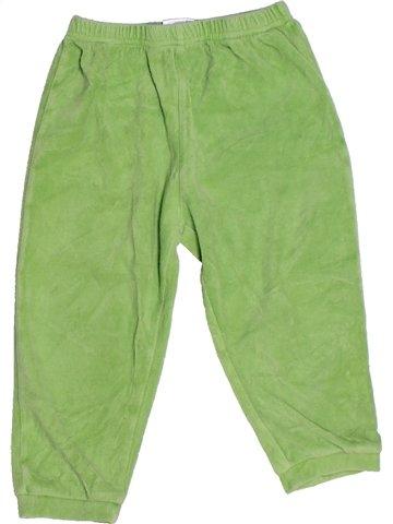 Pantalon garçon IMPIDIMPI vert 3 ans hiver #1242787_1