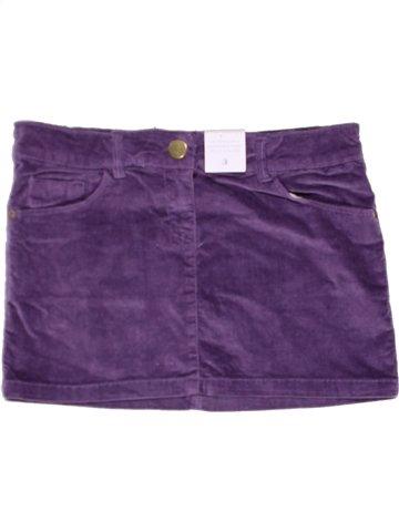 Jupe fille IDEXE violet 11 ans hiver #1243216_1