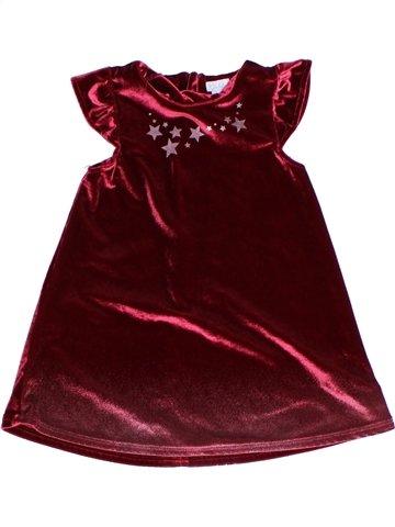 Robe fille KIMBALOO marron 2 ans hiver #1243738_1