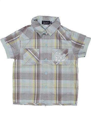 Camisa de manga corta niño TOUT COMPTE FAIT gris 2 años verano #1244819_1