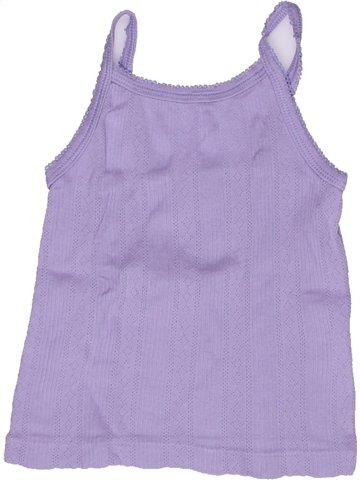 T-shirt sans manches fille PETIT BATEAU violet 2 ans été #1244875_1