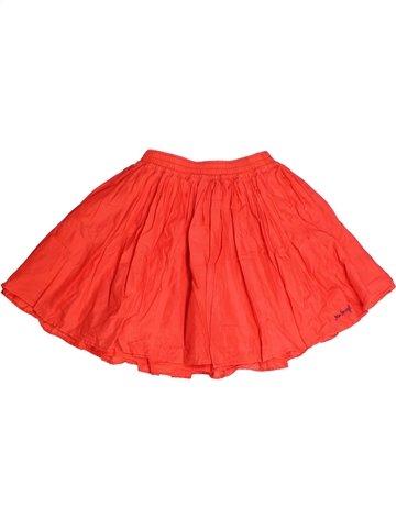 Jupe fille JEAN BOURGET orange 10 ans été #1245065_1