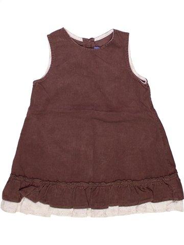Vestido niña BOUT'CHOU violeta 2 años invierno #1245176_1