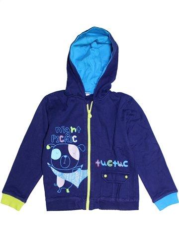 Sweat garçon TUC TUC bleu 6 ans hiver #1250432_1
