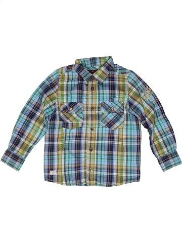 Chemise manches longues garçon CATIMINI gris 6 ans hiver #1250622_1