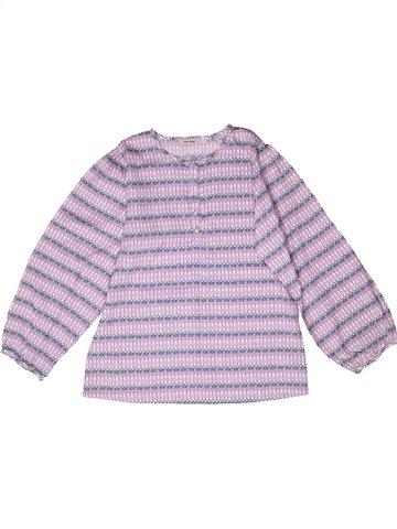 Blusa de manga larga niña CLAYEUX rosa 10 años invierno #1250667_1