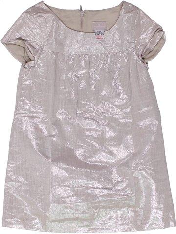 Vestido niña CYRILLUS gris 4 años verano #1251123_1