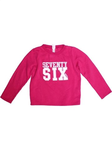 Sweat fille DOMYOS rose 10 ans hiver #1251314_1