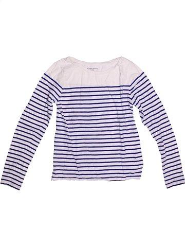 Camiseta de manga larga niña MONOPRIX azul 12 años invierno #1251603_1