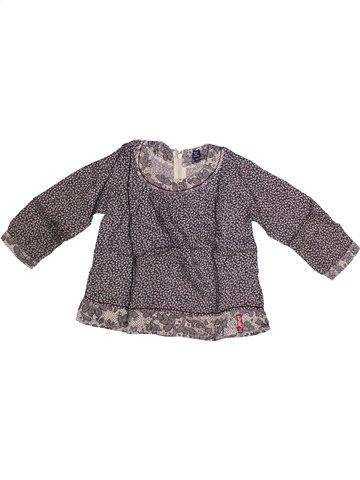 Blusa de manga larga niña TERRE DE MARINS gris 3 años invierno #1251785_1