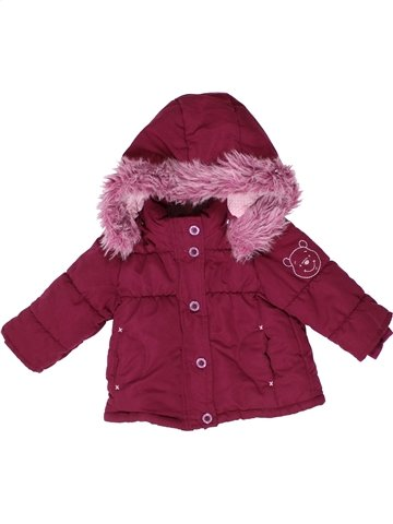 Manteau fille C&A violet 6 mois hiver #1252145_1