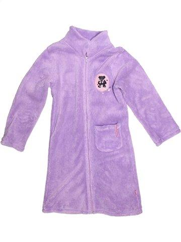 Robe de chambre fille LULU CASTAGNETTE rose 8 ans hiver #1252763_1