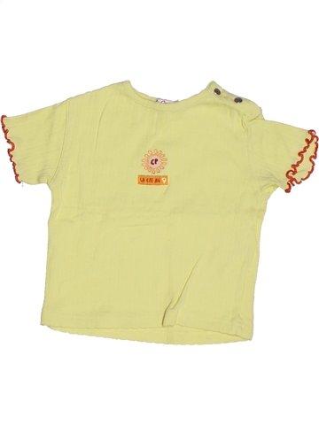 Camiseta de manga corta niña LA COMPAGNIE DES PETITS verde 2 años verano #1253684_1